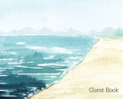 Beach Landscape Guest Book to sign Cover Image