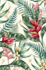 Address Book: For Contacts, Addresses, Phone, Email, Note, Emergency Contacts, Alphabetical Index With Watercolor Floral Leaves Seam Cover Image