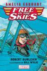 Amelia Earhart Free in the Skies (American Heroes #2) Cover Image