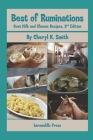 Best of Ruminations Goat Milk and Cheese Recipes: 2nd Edition Cover Image