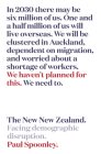 The New New Zealand: Facing demographic disruption Cover Image