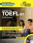 Cracking the TOEFL Ibt with Audio CD, 2016 Edition Cover Image