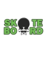Skateboard: Monatsplaner, Termin-Kalender - Geschenk-Idee für Skater & Skateboard Fans - A5 - 120 Seiten Cover Image