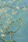 Notebook: Vincent Van Gogh Music Sheet Book Blossoming Almond Tree Notebook Fine Art Impressionism Painting Almond Blossom 120 p Cover Image