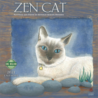 Zen Cat 2021 Wall Calendar: Paintings and Poetry by Nicholas Kirsten-Honshin Cover Image