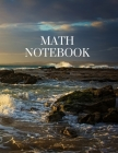 Math Notebook: 120 pages, math notebook, quad ruled workbook, 8.5 x 11 inch large soft cover journal, 5 squares per inch- suited for Cover Image