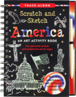 Scratch & Sketch America (Trace Along) Cover Image