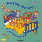 Ten Little Monkeys Jumping on the Bed (Classic Books with Holes Board Book) Cover Image