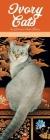 Ivory Cats Slim Calendar 2021 (Art Calendar) Cover Image