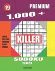 1,000 + Premium sudoku killer 9x9: Logic puzzles medium - hard levels Cover Image