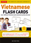 Vietnamese Flash Cards Kit: The Complete Language Learning Kit (200 Hole Punched Cards, Online Audio Recordings, 32-Page Study Guide) Cover Image