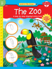 The Zoo: A step-by-step drawing & story book (Watch Me Draw) Cover Image