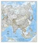 National Geographic: Asia Classic Wall Map (33.25 X 38 Inches) (National Geographic Reference Map) Cover Image