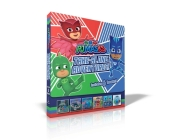 PJ Masks Take-Along Adventures!: Catboy Does It Again; Meet PJ Robot!; Mystery Mountain Adventure!; PJ Masks Save the School!; Meet the Wolfy Kids!; PJ Masks Save the Sky Cover Image