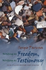 Writing as Freedom, Writing as Testimony: Four Italian Writers and Judaism (Judaic Traditions in Literature) Cover Image
