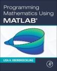 Programming Mathematics Using MATLAB Cover Image