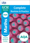 Letts GCSE Revision Success - New Curriculum – AQA GCSE Maths Foundation Complete Revision & Practice Cover Image