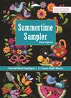 Summertime Sampler: Colorful Wool Applique - Sunny Quilt Blocks Cover Image