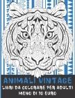 Libri da colorare per adulti - Meno di 10 euro - Animali vintage Cover Image