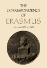 The Correspondence of Erasmus: Letters 2472 to 2634, Volume 18 (Collected Works of Erasmus #18) Cover Image