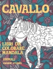 Libri da colorare Mandala - Grande stampa - Animali - Cavallo Cover Image