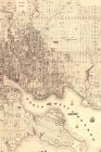 1851 Map of Baltimore, Maryland - a Poetose Notebook / Journal / Diary (50 Pages/25 Sheets) Cover Image