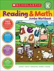 Reading & Math Jumbo Workbook: Grade K Cover Image