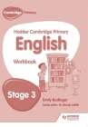Hodder Cambridge Primary English: Work Book Stage 3 Cover Image