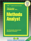 Methods Analyst: Passbooks Study Guide (Career Examination Series) Cover Image