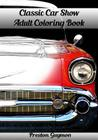 Classic Car Show Adult Coloring Book Cover Image