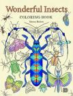 Wonderful Insects Coloring Book Cover Image
