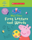 Peppa Pig: Wipe-Clean First Letters and Words Cover Image