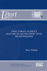 Using Target Audience Analysis To Aid Strategic Level Decisionmaking (The LeTort Papers) Cover Image