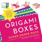 Origami Boxes Super Paper Pack: Folding Instructions and Paper for Hundreds of Mini Containers (Origami Super Paper Pack) Cover Image