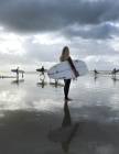 Notebook: surfer surfing surf wave hang ten surfers surfboard board ocean swim Cover Image