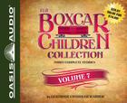 The Boxcar Children Collection Volume 7 (Library Edition): Benny Uncovers a Mystery, The Haunted Cabin Mystery, The Deserted Library Mystery Cover Image