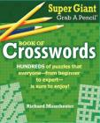 Super Giant Grab a Pencil Book of Crosswords Cover Image