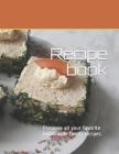 Recipe book: Preserve all your favorite homemade family recipes.. Size 8.5