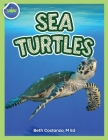 Sea Turtles Activity Workbook ages 4-8 Cover Image