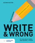 Write & Wrong: Writing Within Criminal Justice Student Workbook Cover Image