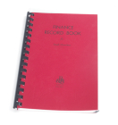 Finance Record Book for Small Churches Cover Image