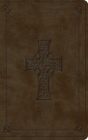 ESV Vest Pocket New Testament with Psalms and Proverbs (Trutone, Olive, Celtic Cross Design) Cover Image