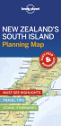 Lonely Planet New Zealand's South Island Planning Map (Planning Maps) Cover Image
