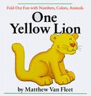 One Yellow Lion: Fold-Out Fun with Numbers, Colors, Animals Cover Image