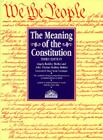 The Meaning of the Constitution, the Meaning of the Constitution Cover Image