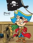 Pirati Libro da Colorare 1 & 2 Cover Image