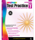 Spectrum Test Practice, Grade 7 Cover Image