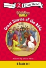 Great Stories of the Bible: Level 2 (I Can Read! / Adventure Bible) Cover Image