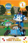 Read with Robocar Poli: A Visit to the Farm (Level 1: Starting Reader) Cover Image