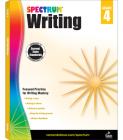 Spectrum Writing, Grade 4 Cover Image